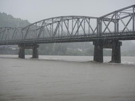0012 台風17号来襲!仁淀川高水流観!