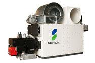 熱交換器(温風暖房機)