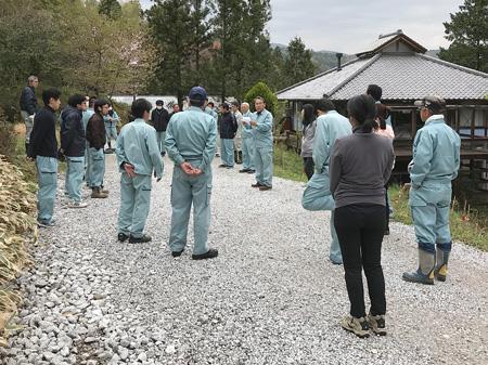 0079 敷地環境整備&ジビエ・狩猟教室