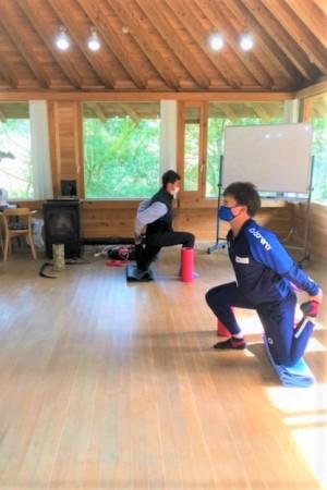 0110  令和3年初の体幹トレーニング!