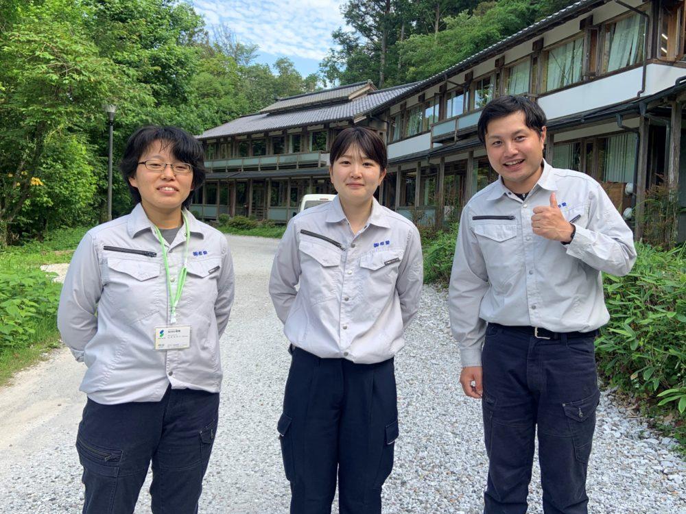 0124 令和3年度 新入社員のご紹介!
